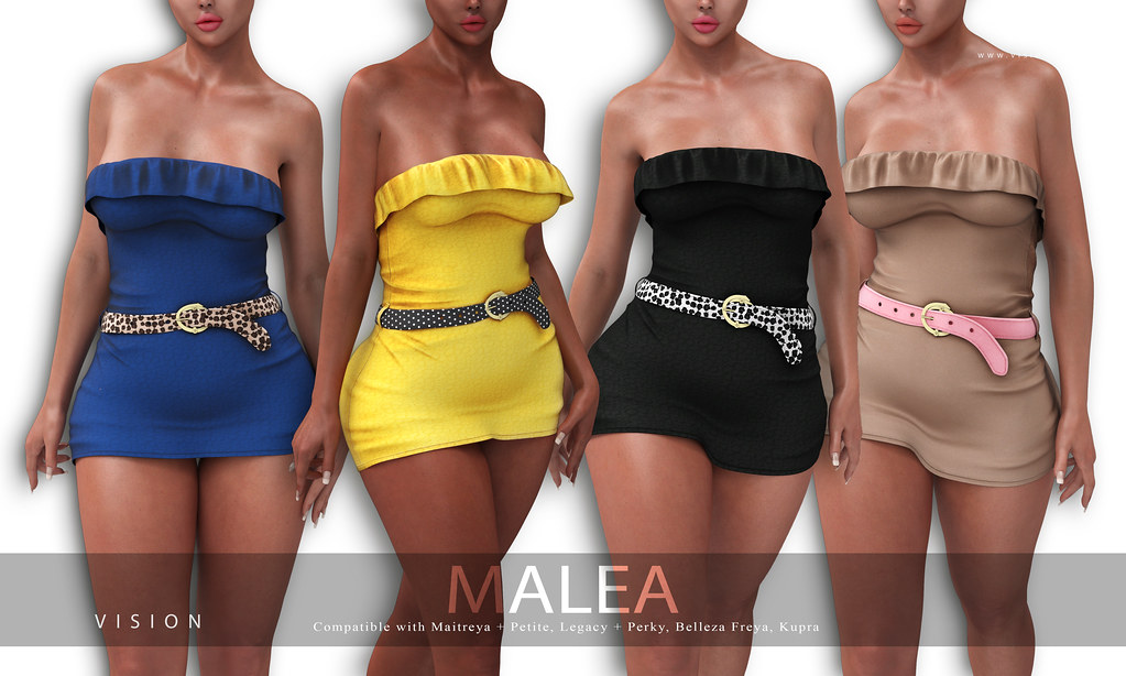 {ViSion} // Malea Dress / Upcoming Release ACCESS / 20k Giveaway