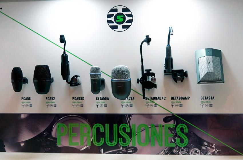 Shure Microfonos para percusiones