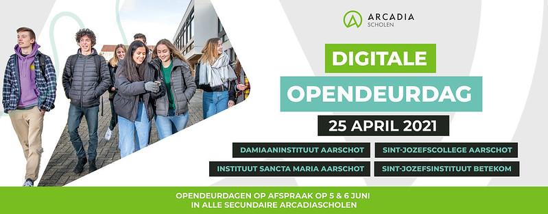 Digital opendeurdag arcadia