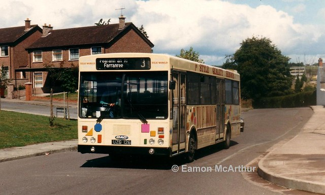 Bus Éireann KC126 (UZG126).