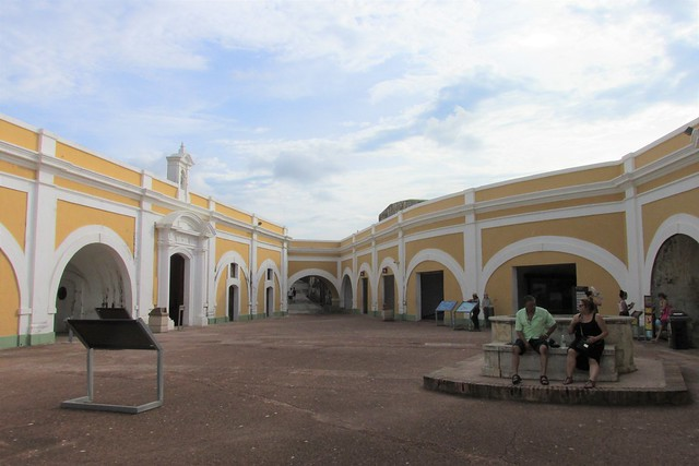 El Morro - Plaza de Armas and  Chapel