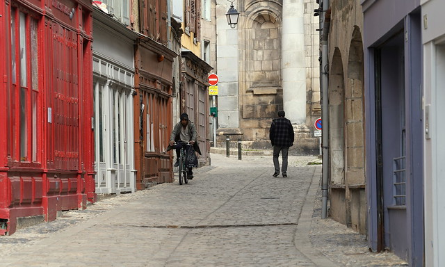 Wandering around town