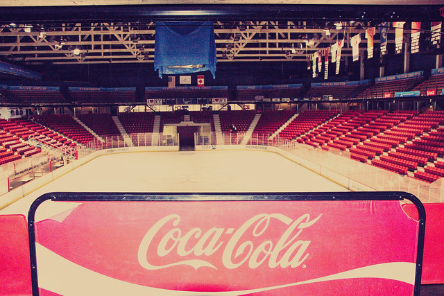 Lake Placid - New York - Herb Brooks Arena - Winter 1980  - Miracle on Ice