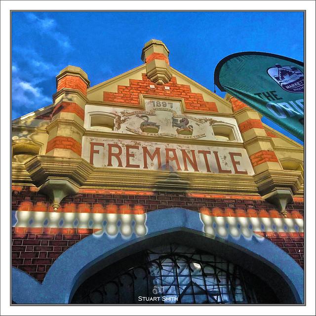 Entrance, Fremantle Markets, Henderson Street, Fremantle, Western Australia