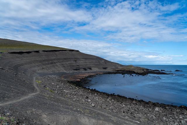 Eldfell crater