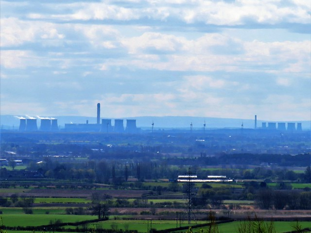 The Northern Powerhouses, Drax & Eggbrough Power Stations, Seen From Market Weighton Hill