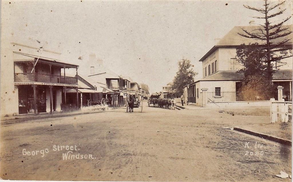 George St Windsor, NSW