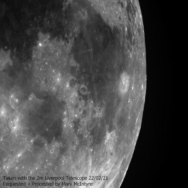 Langenus Crater + Surrounding Area 22/02/21