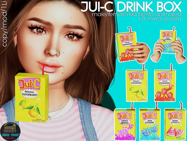Junk Food - Jui-C Drink Box Ad