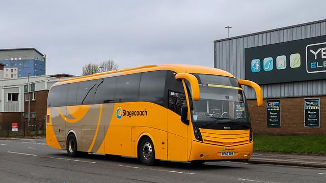 53734 BF63ZRR Stagecoach Fife