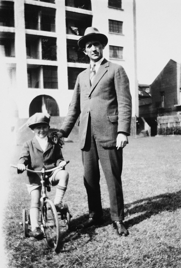 Philip and Reginald Harding Klimanek in Shanghai, ca. 1931