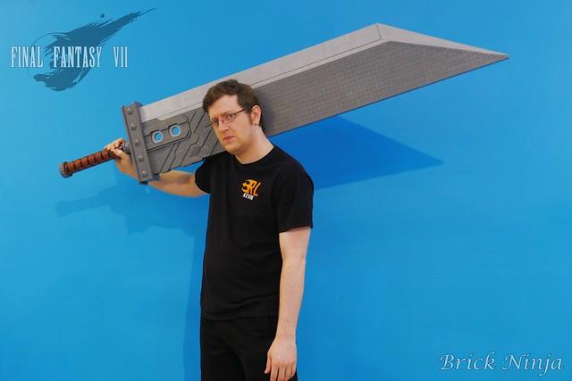 バスターソード Cloud Strife's Buster Sword