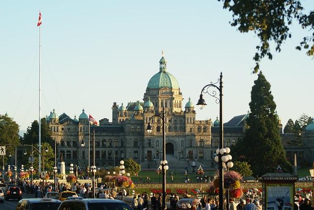 Victoria, BC - British Columbia Parliament Buildings