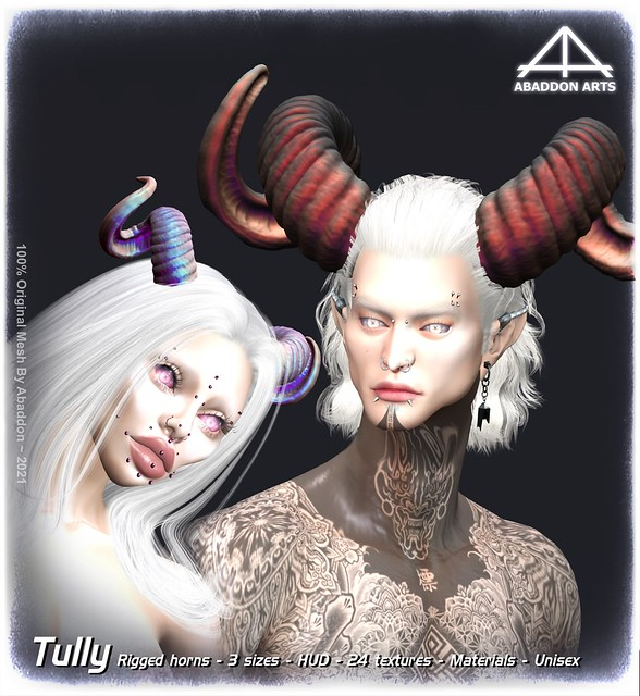 //ABADDON ARTS\\  Tully Horns