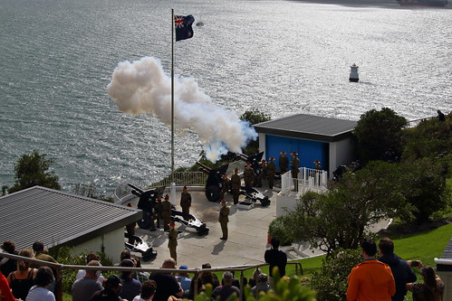 <p>Had the opportunity to be part of the 41 gun salute to HRH the Duke of Edinburgh, by the 16th Field Regiment of the Royal Regiment of New Zealand Artillery</p>