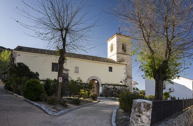 Valverde de Alcalá, iglesia de Santo Tomás Apostol.