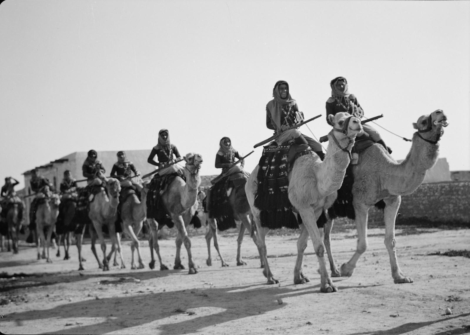 25. Парад верблюдов перед началом скачек