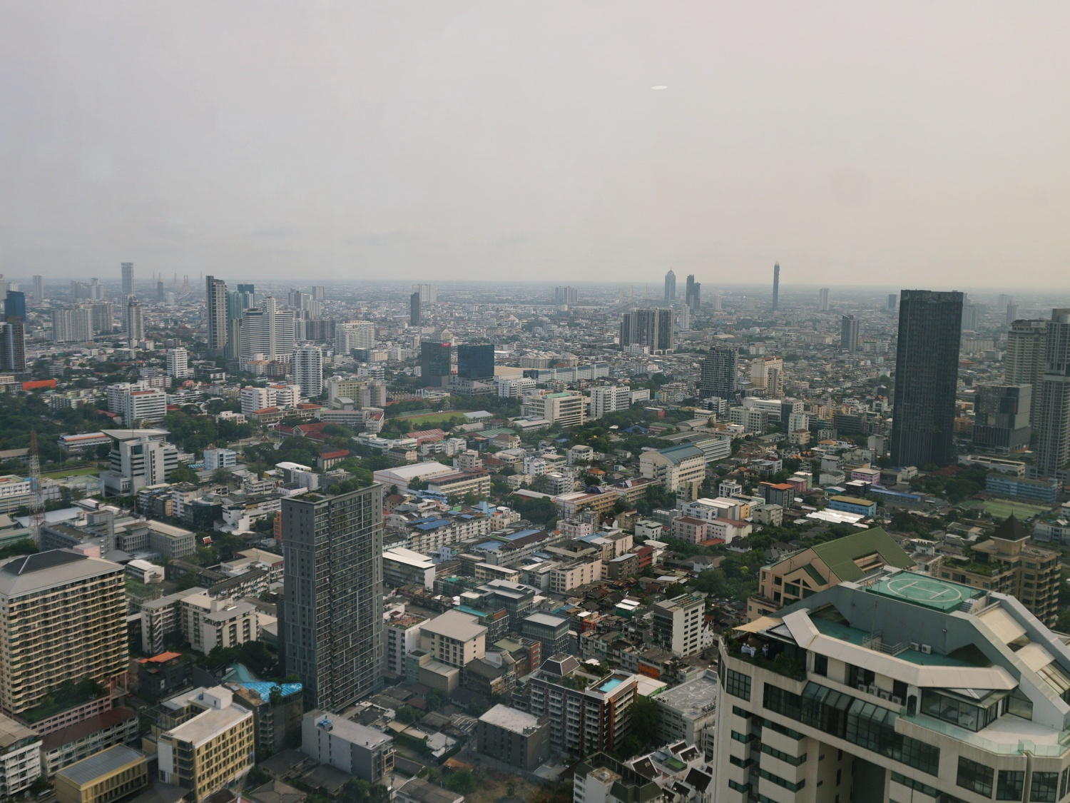 Banyan Tree Bangkok view