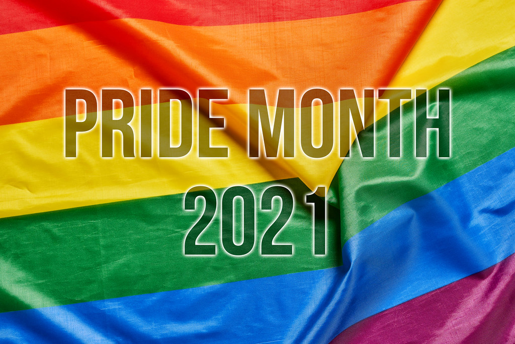 Pride month 2021 on the rainbow flag | 💾 Marco Verch is a P… | Flickr