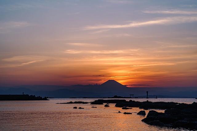 富士山 @ 真名瀬