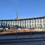 New UCLan University building in Preston