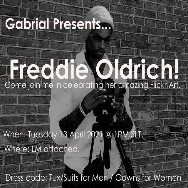 Gabrial Presents...Freddie Oldrich
