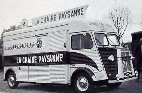 Citroën HY La Chaine Paysanne