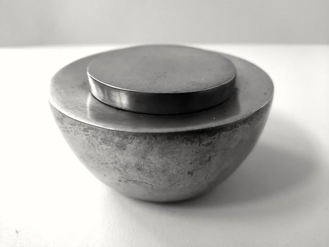Harald Buchrucker small pewter box