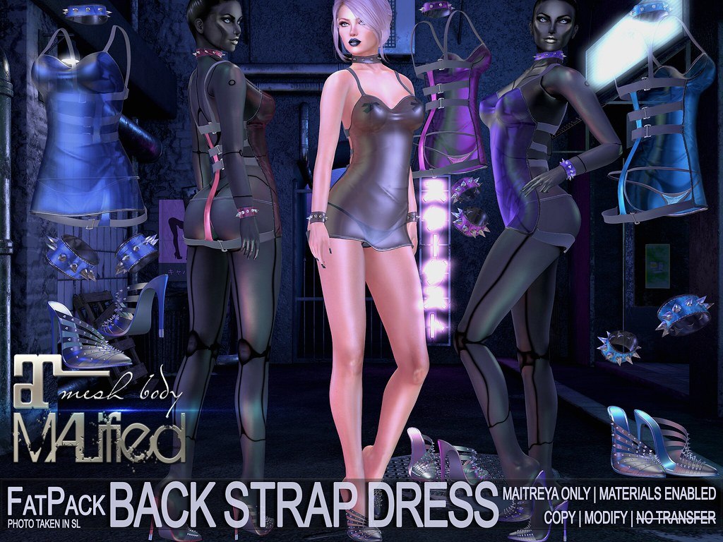 MALified - Back Strap Dresses (with Shoes) - FatPack