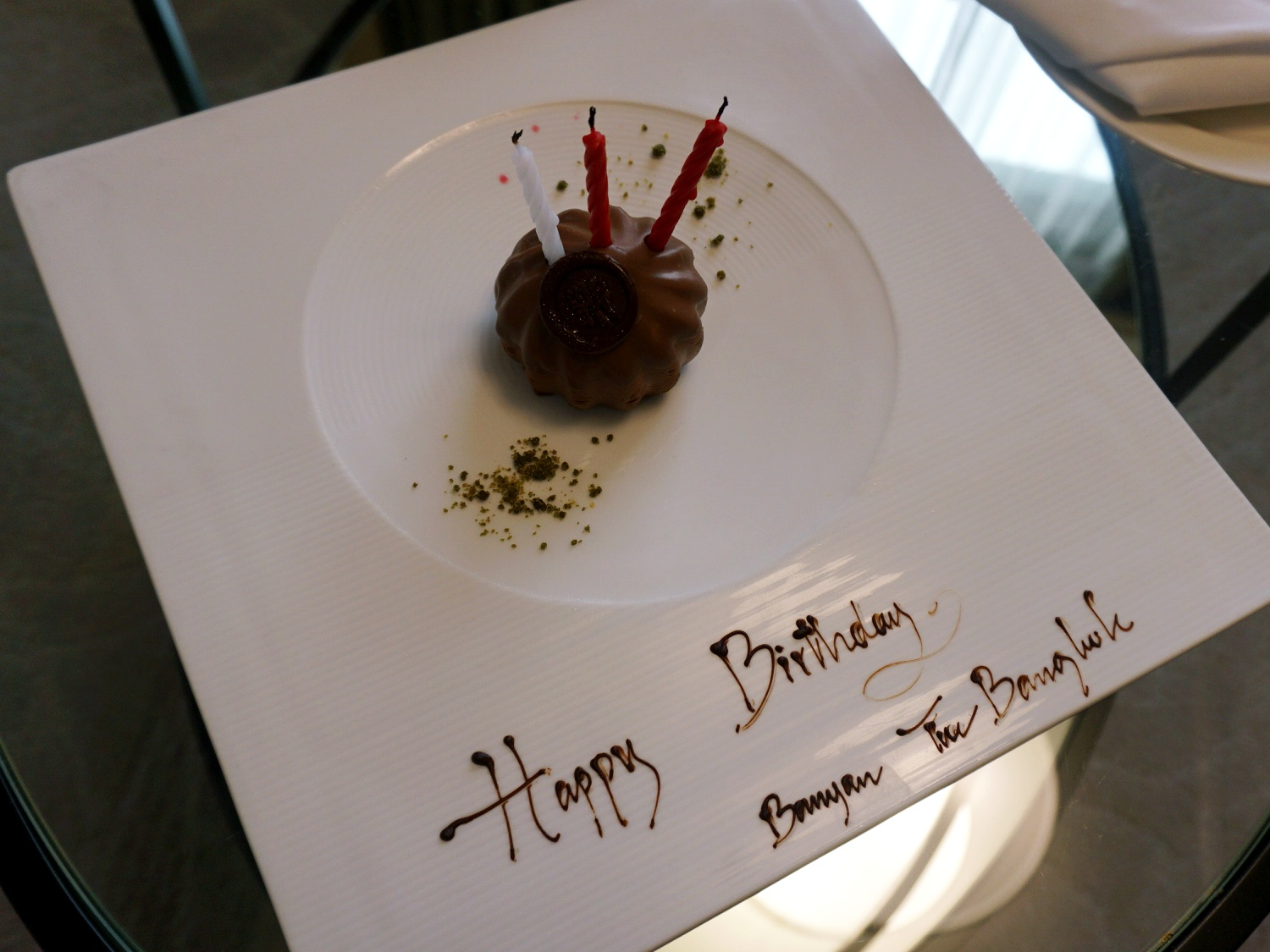 Banyan Tree Bangkok birthday