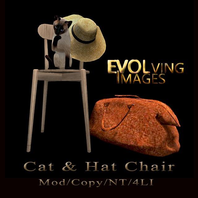 Cat & Hat Chair & Bag