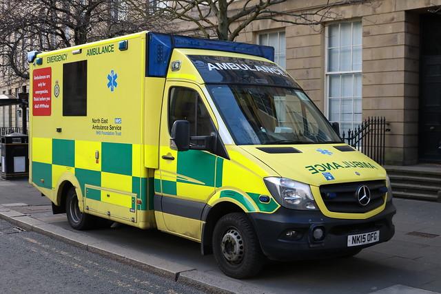 North East Ambulance Service: NK15OFG Mercedes