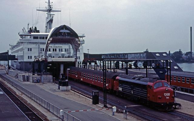 Nyborg færge (DK) in 1982.