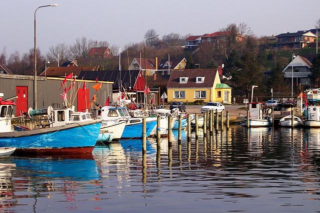 The harbour in Skærbæk