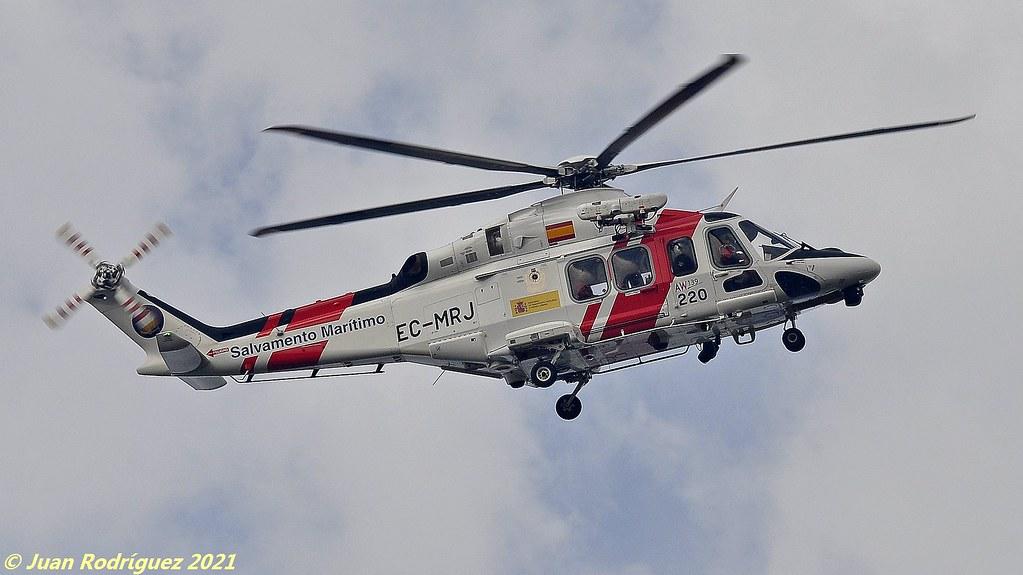 EC-MRJ - España- Sociedad de Salvamento y Seguridad Marítima (SASEMAR) - Agusta-Westland AW-139 - PMI/LEPA