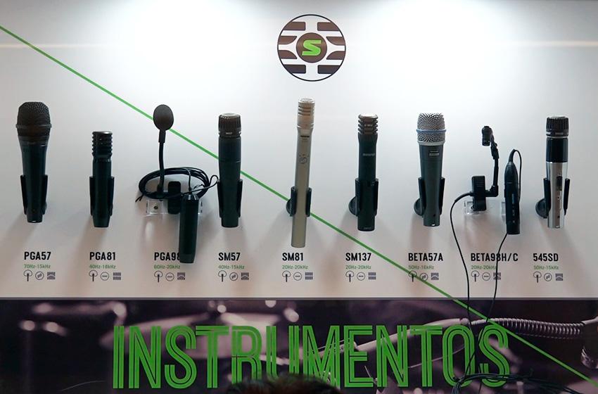 Shure Microfonos para instrumentos