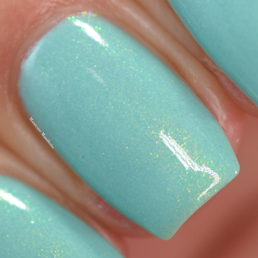 Treo Lacquer Mint Macaron review