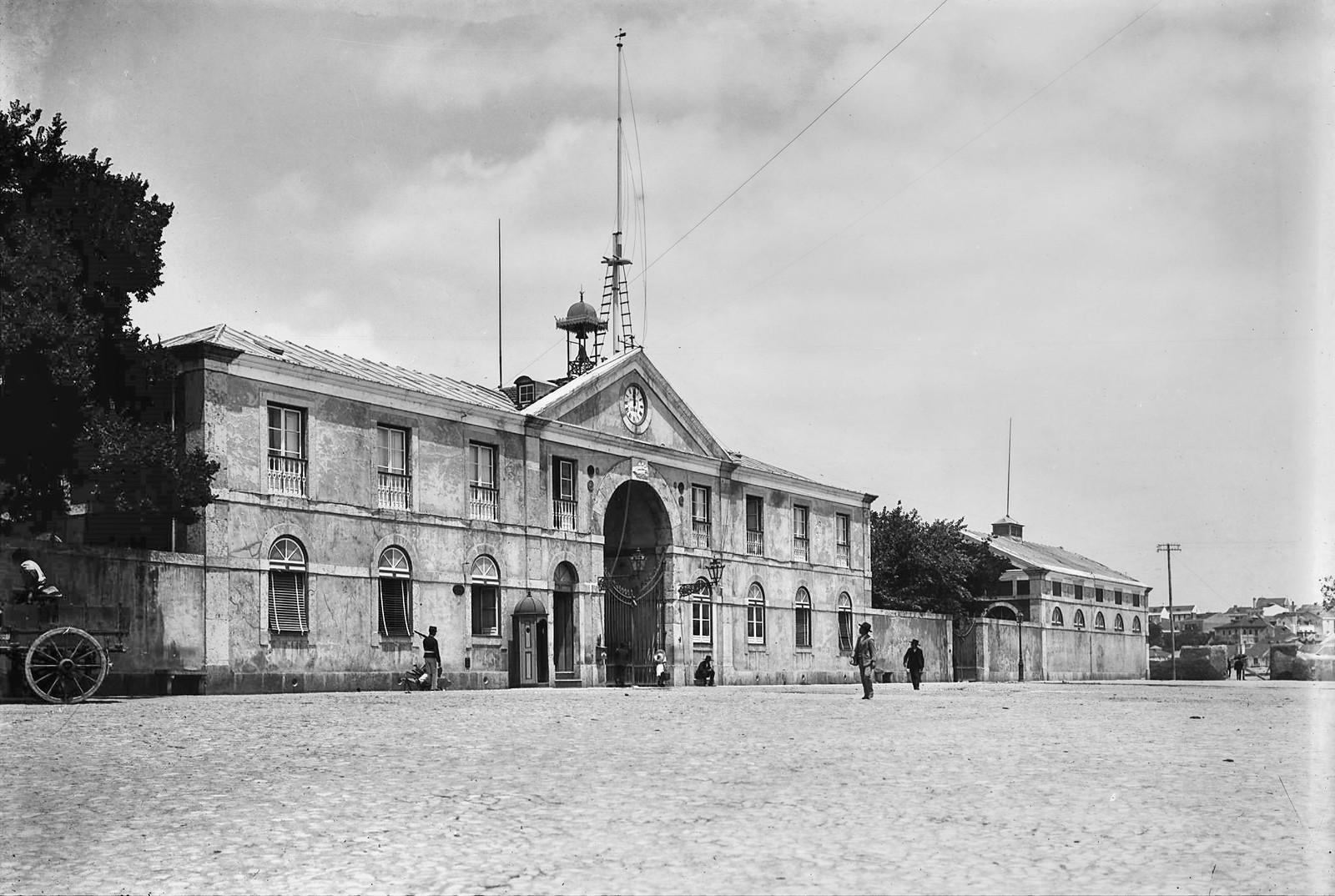 Antigo Matadouro, Lisboa (P.Guedes, c. 1900)