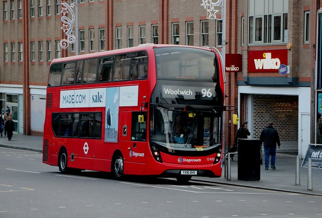 Stagecoach London - 12400 - YX16OHS