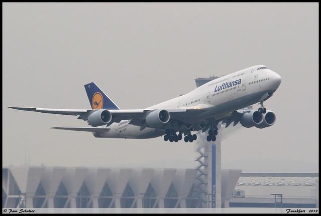 BOEING747 830 Lufthansa D-ABYC 37828 Frankfurt octobre 2019