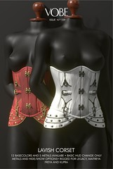 VOBE - LAVISH CORSET @FETISH FAIR