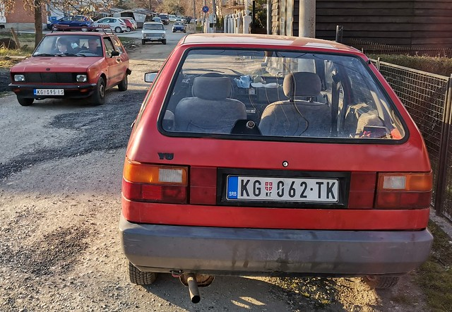 4 interesting cars scene