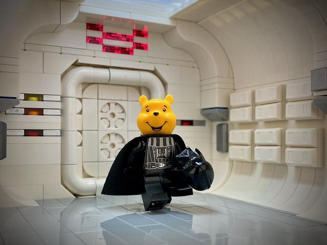 Breaking news 😲 Winnie is .... Darth Vader 🙀