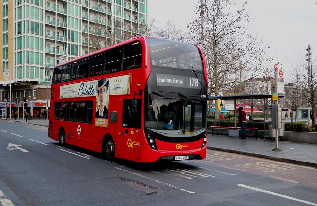 Go Ahead London Central - EH177 - YY67URF