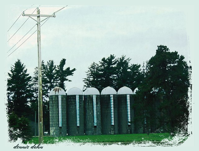 Seven Sturdy Silos Standing Silently Serene...