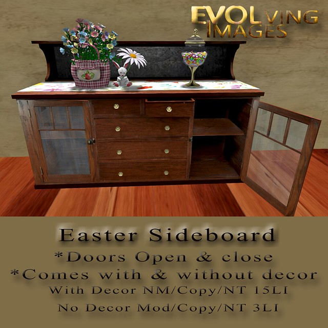 Spring Sideboard