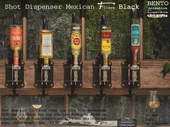 F-Class Shot Dispenser Mexican edition