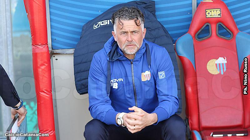 Francesco Baldini, tecnico del Catania