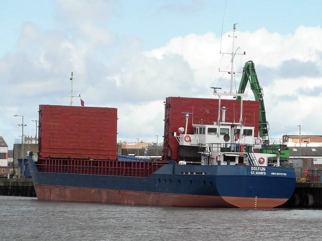 Cargo vessel Dolfijn of St. John's, Antigua