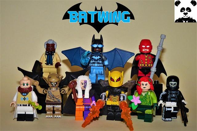 The Bat-Family & Villains Vol. 3: Batwing